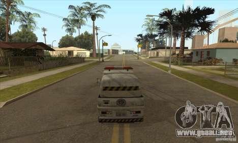 Barrendero de trabajo para GTA San Andreas tercera pantalla