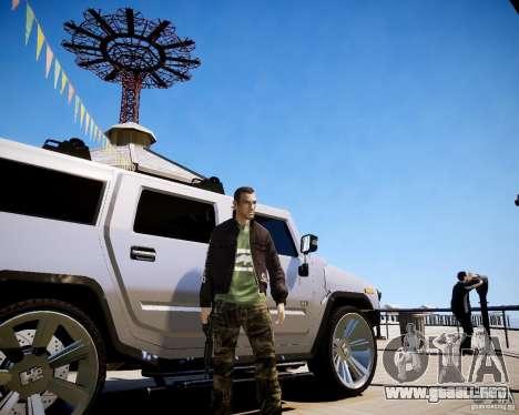 CoD Black Ops Hudson para GTA 4 sexto de pantalla