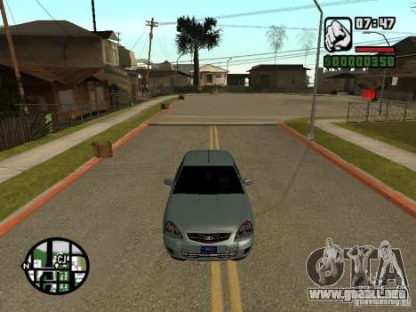 VAZ-2170 para vista lateral GTA San Andreas