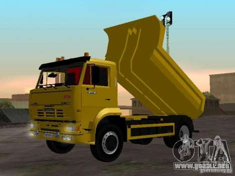 KAMAZ 53605 TAI versión 1.1 para GTA San Andreas