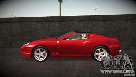 Ferrari 575 Superamerica v2.0 para GTA San Andreas left