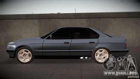 BMW M5 E34 1990 para GTA San Andreas left