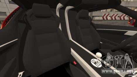 Lamborghini Miura 2006 para GTA 4 vista interior