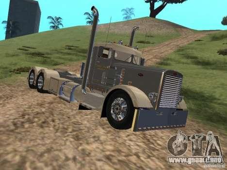 Pimped Peterbilt 381 para GTA San Andreas left