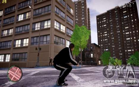 Traje de Adidas para GTA 4 quinta pantalla