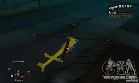 Helitours Maverick de GTA 4 para la visión correcta GTA San Andreas