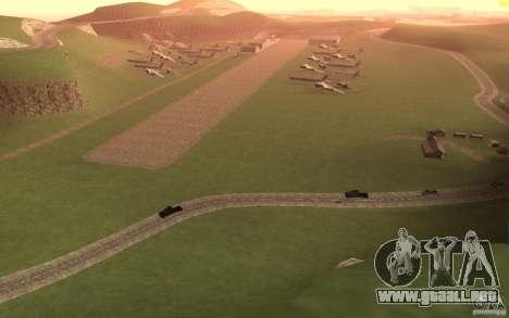 New desert para GTA San Andreas sucesivamente de pantalla
