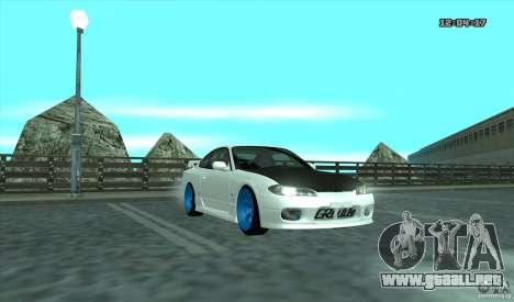Nissan Silvia S15 Stance para GTA San Andreas left