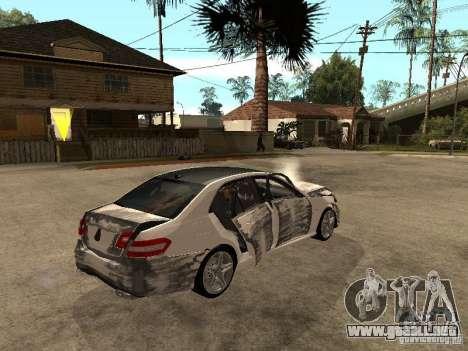 Mercedes-Bens e63 AMG para vista lateral GTA San Andreas
