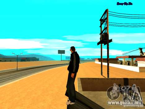 Nuevo skin para Gta San Andreas para GTA San Andreas tercera pantalla