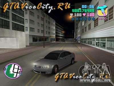 AUDI RS6 para GTA Vice City