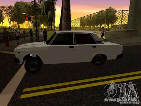 VAZ 2107 Avtosh Style para GTA San Andreas left