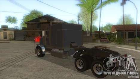 Fantasma del GTA IV para GTA San Andreas vista posterior izquierda