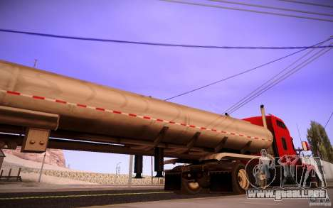 Trailer Kenworth T600 para GTA San Andreas left