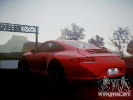 Porsche 911 (991) Carrera S para GTA San Andreas left