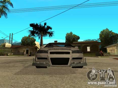 Nissan Skyline R 34 Need For Speed Carbon para GTA San Andreas left