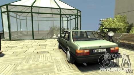 Audi 80 B2 para GTA 4 Vista posterior izquierda