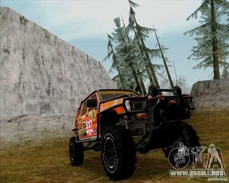 Nissan Navara Off-Road para GTA San Andreas left