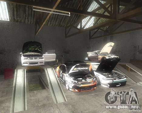BMW 135i Hella Drift para visión interna GTA San Andreas