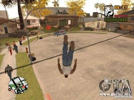 Hombres mosca-CJ estará más pronunciada que Supe para GTA San Andreas sucesivamente de pantalla
