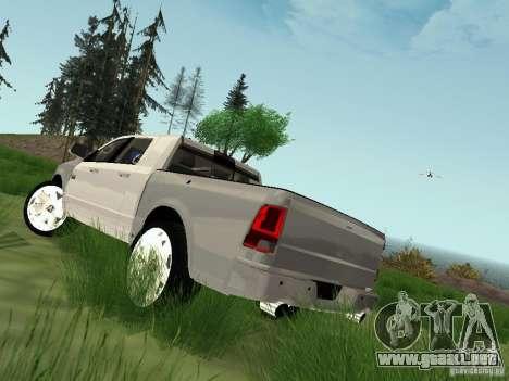 Dodge Ram 1500 Longhorn 2012 para GTA San Andreas left