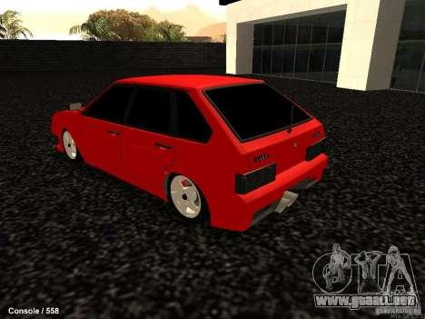 VAZ 2109 Opera Turbo para GTA San Andreas left