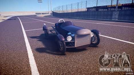 Vintage race car para GTA 4 vista hacia atrás