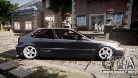 Honda Civic EK9 Tuning para GTA 4 left