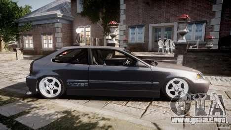 Honda Civic EK9 Tuning para GTA 4 left