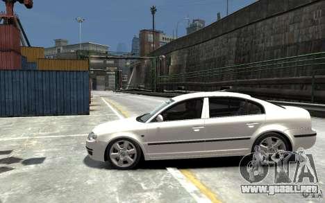 Skoda SuperB para GTA 4 left