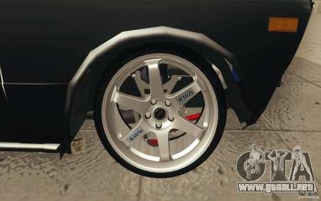 2106 VAZ Lada deriva sintonizado para las ruedas de GTA San Andreas