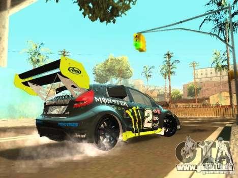 Ford Fiesta Rally Time para la visión correcta GTA San Andreas