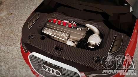 Audi A1 Quattro para GTA 4 vista interior