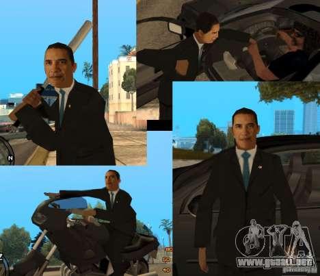 Barack Obama en el Gta para GTA San Andreas