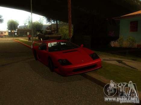 New Car in Grove Street para GTA San Andreas sucesivamente de pantalla