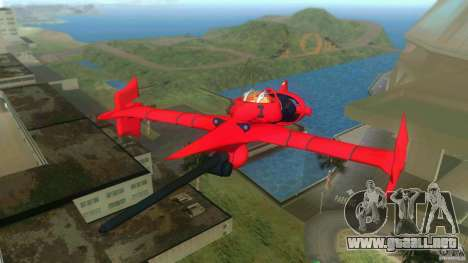 Swordfish Mono Racer para GTA Vice City