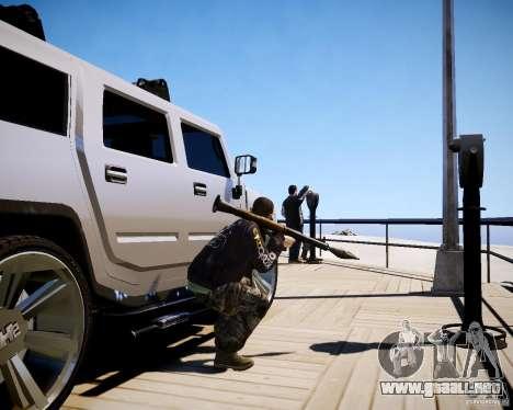 CoD Black Ops Hudson para GTA 4 novena de pantalla