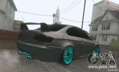 BMW M3 E92 Hellaflush v1.0 para visión interna GTA San Andreas