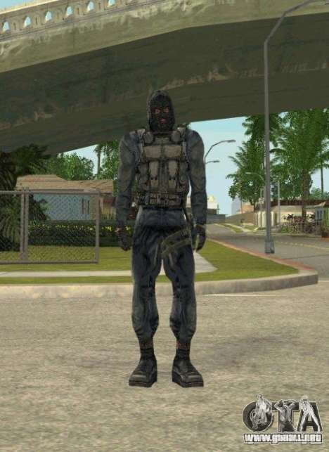 Agrupación de mercenarios de un acosador para GTA San Andreas novena de pantalla
