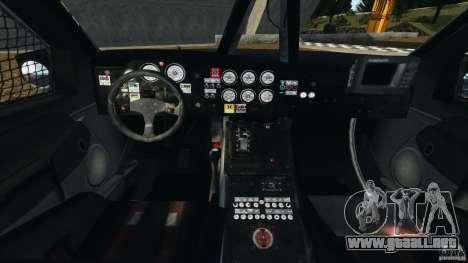 Dodge Power Wagon para GTA 4 vista hacia atrás