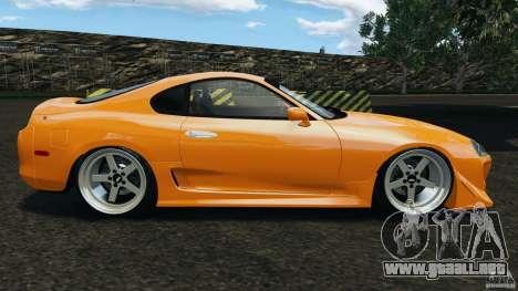 Toyota Supra Tuning para GTA 4 left