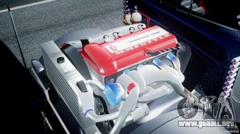 Peterbilt Truck Custom para GTA 4 visión correcta