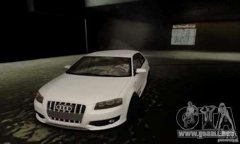 Audi S3 para la vista superior GTA San Andreas
