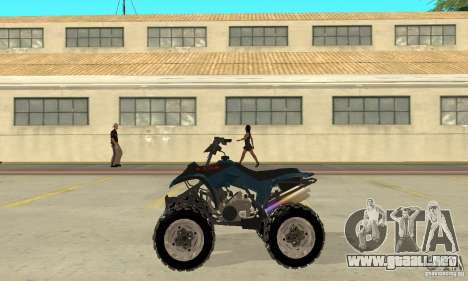 Honda Sportrax para GTA San Andreas left