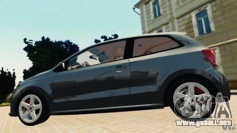 Volkswagen Polo v2.0 para GTA 4 Vista posterior izquierda