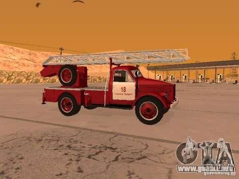 GAZ-51 ALG-17 para GTA San Andreas left