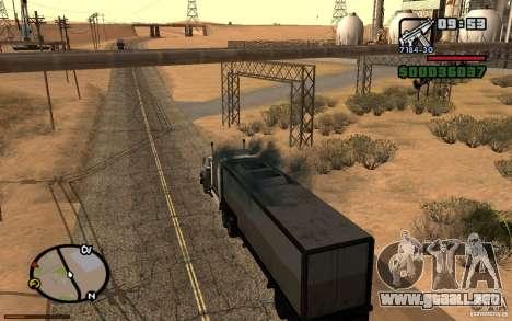 Tablero de instrumentos activo 3.1 para GTA San Andreas sexta pantalla
