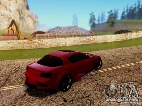 Mazda RX8 Reventon para la visión correcta GTA San Andreas