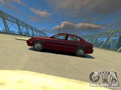 Daewoo Leganza CDX para GTA 4 left