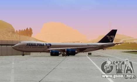 Boeing 747-8F para visión interna GTA San Andreas
